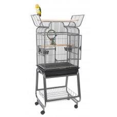 Rainforest Bird Cage Peru On Stand, Open Top suitable for Cockatiels, Parakeets