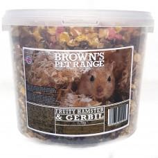 Hamster Food Fruity Hamster/Gerbil Mix 1.7kg Browns Pet Food Range
