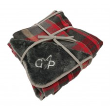 Gor Pets Camden Blanket Double Sided Large Red Check