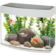 New LED Panoramic Fish Tank 20L White