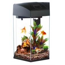 Hexagonal Fish Tank 21.6L Black Colour