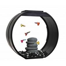 Deco Fish Tank Black 20L