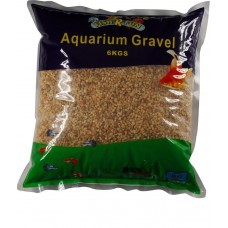 Aquarium Gravel, Fine Natural Gravel 6kg Bag