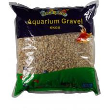 Aquarium Gravel, Coarse Natural Gravel 6kg Bag