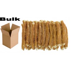 BULK BUY SAVER Rawhide Chicken Wrapped Rolls, Dog Chew 12cm