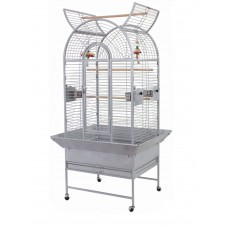 Parrot Cage Open Top With Seed Guard & Stand On Wheels