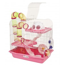 Hamster Cage Henry Pink
