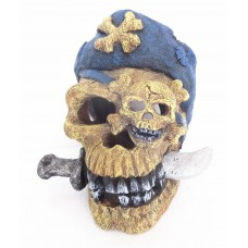 Pirate Skull & Knife Ornament