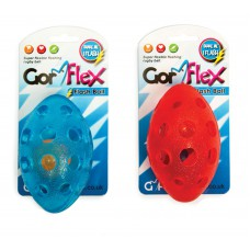 Gor Pets Dog Toy, Gor Flex Flash Treat Ball 13.5cm