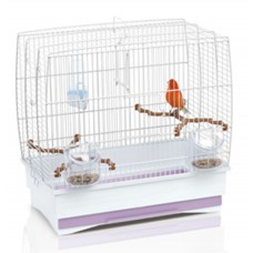Irene 2 Bird Cage White
