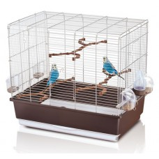 Irene Export 4 Bird Cage Chrome