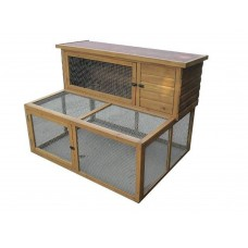 Rabbit Hutch & Large Run