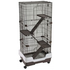 4 Tier Rodent Cage On Wheels
