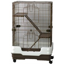 3 Tier Rodent Cage On Wheels