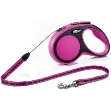 Flexi Comfort Retractable Lead Small, Cord 5m Pink