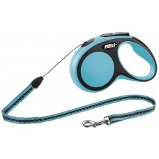 Flexi Comfort Retractable Lead Small, Cord 5m Blue