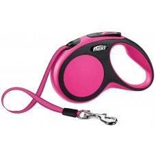Flexi Comfort Retractable Lead Small, Tape 5m Pink